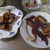 幸運な病のレシピ( 1583 )夜:手羽先・塩サバ唐揚げ、バンバンジー、汁