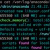 Linuxメモ : ログに色を付けるcczeコマンドの使い方