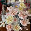 つまみ細工  髪飾りの添え花