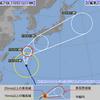 台風22号襲来のため週末修行断念