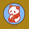 冬景色はパンダの保護色 パンダのイラスト