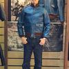 ダブルヘリックス/DOUBLE HELIX 藍染めレザーA-1とA-2 藍に輝くフライトジャケットの美しさ!
