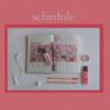 バイトには欠かせないスケジュール帳-出来る女のkawaii schedule book♡-