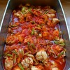 チキンのトマト醤油煮込み
