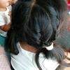 幼稚園児の女の子の髪型♪ 表編み込み編