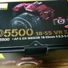 Nikon D5500を買っちゃいました♪ お疲れ様ですD100