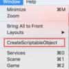 Unity : ScriptableObjectを書き出すウインドウを自作してみた