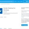 (朗報)これまでWindows10 Homeでは動作できなかったDocker DesktopをWSL2機能で動作させる