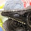 100均の輪針すいすい毛糸編む