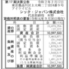 シック・ジャパン株式会社 第17期決算公告