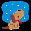 秋田初雪!