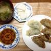 5月28日の食事記録~米粉の餃子皮で野菜餃子