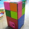 幼児でも簡単に遊べる「ピタゴラス」 3歳次女単独で作った作品