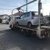 越生町からレッカー車でパンクの車検切れ故障車を廃車の引き取りしました。