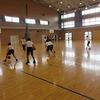 部活動:バスケットボール部男子 ドリブル練習