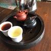 バンコクの中華街で本格的な中国茶を飲んでみた。そして書道教室。
