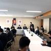 昨日に続いて自民党外交部会に出席