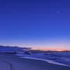 暁月と桂浜