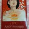 6月のカード LOVE 愛