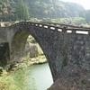熊本県美里町フットパス)霊台橋石橋コース。