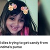 Girl dies after accidentally pulling trigger of gun