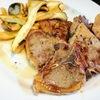 たまの贅沢【1食552円】ラムTボーンステーキ焼きエリンギ添えの作り方