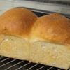食パン〜前回生地を取っておいてパウンド型で〜
