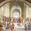 ラファエロの有名作品「アテナイの学堂」