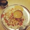 生まれて初めて食べるウッタパームの朝食