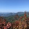 米子自動車道の摺鉢山トンネルの由来となった摺鉢山は、良好な眺望が得られる山だった