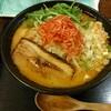 八千代台【麺や 蔵の味人(あじと)】海老みそラーメン ¥800+大盛 ¥100