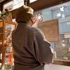 再生した和紙でショップを桜満開にしてみよう!