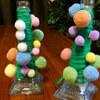 【双子】4歳児と一緒に簡単・毛糸で手作りクリスマスツリー