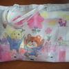学校・保育園の気配りが嬉しい。作品入れの袋