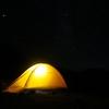 北の道へテントを持って行くことにしました。今度こそ腹くくりました。