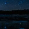 上士幌町 糠平湖にてアイスバブルと星空そしてアイスバブルと朝焼けを撮ってきました!【1月15日撮影】