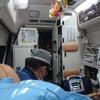 初めての救急車