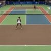 テニスにおける、『1対2のハンデキャップマッチ』:勝利の行方は??