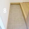 45分間で玄関掃除。断捨離タオルで玄関のたたきを水拭き!【100日オーガナイズ】