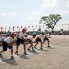 チャレンジ運動会⑤ 6年生徒競走