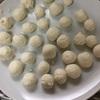 お豆腐入り白玉団子作り