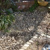 砂利の庭、ツタンカーメンのエンドウ、ハーブ石けん