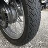 チューブタイヤがパンクしたけど中国製タイヤのお陰で走ってバイク屋さんまで辿り着きました【SUZUKI ST250 E type / チェンシンタイヤ】