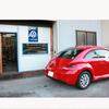 嬉し恥ずかし・・・・新車の赤ビートル。    川瀬ブログです。
