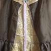 2:シルクでファスナーと裏地付きドレスを作るよ♪
