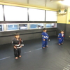 土曜日幼児キッズ柔術クラス、小学生キッズ柔術クラス、一般柔術クラス。