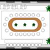 会議座席表テンプレート - 無料ダウンロード