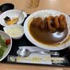 カレー定食!