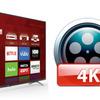 4K MXFを最高の品質でTCLテレビにロードとオープンするの方法