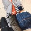 旅行・キャンプ・帰省時に使ってみて下さい( ´ ▽ ` )。子供の衣類収納テクニック